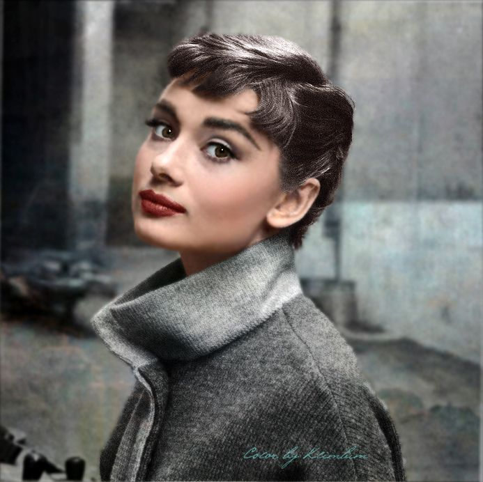 Audrey Hepburn World War II Badass